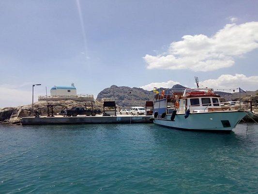 lindos port